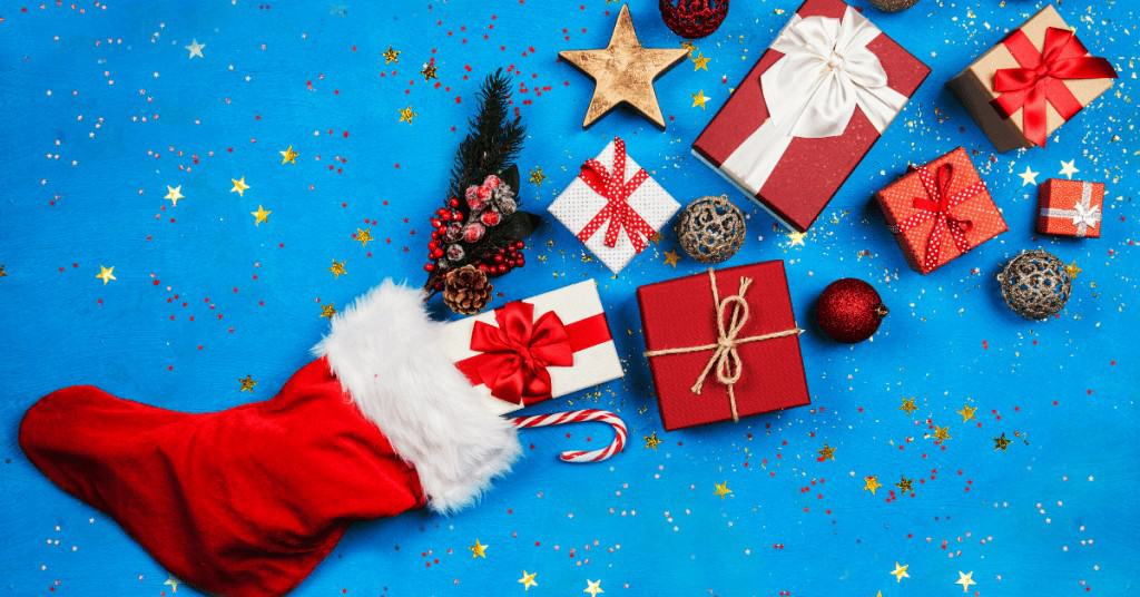 Presents-Blue-Background