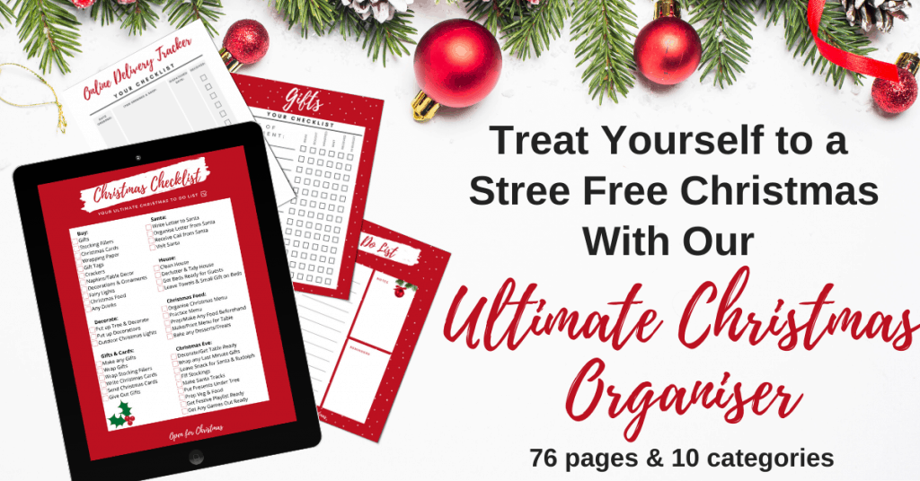 Ultimate Christmas Organiser - Open for Christmas