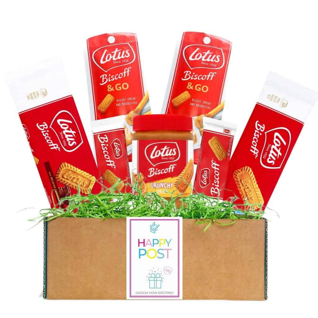 Biscoff Luxury Treat Hamper Gift food Gifts for Christmas