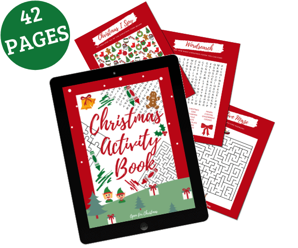 Christmas Activity Book - Open for Christmas