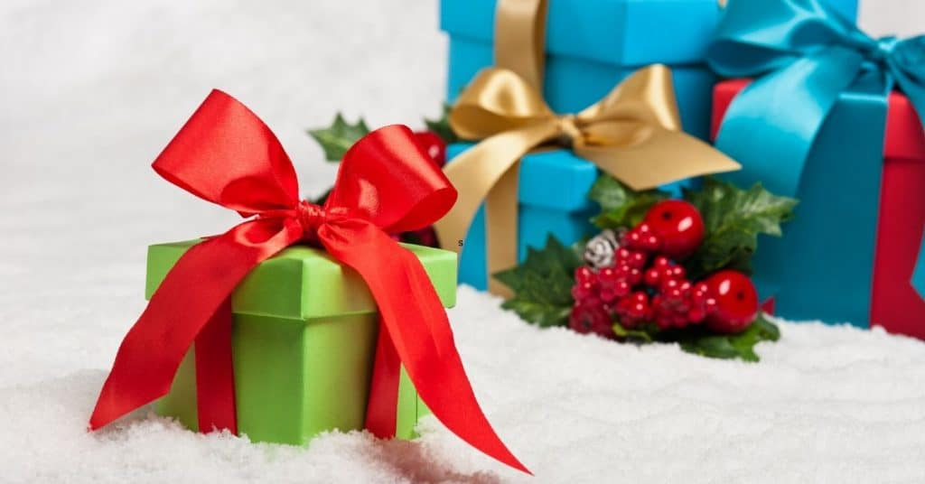 Green and Red Present - Gifts for the Man Who Has Everthing