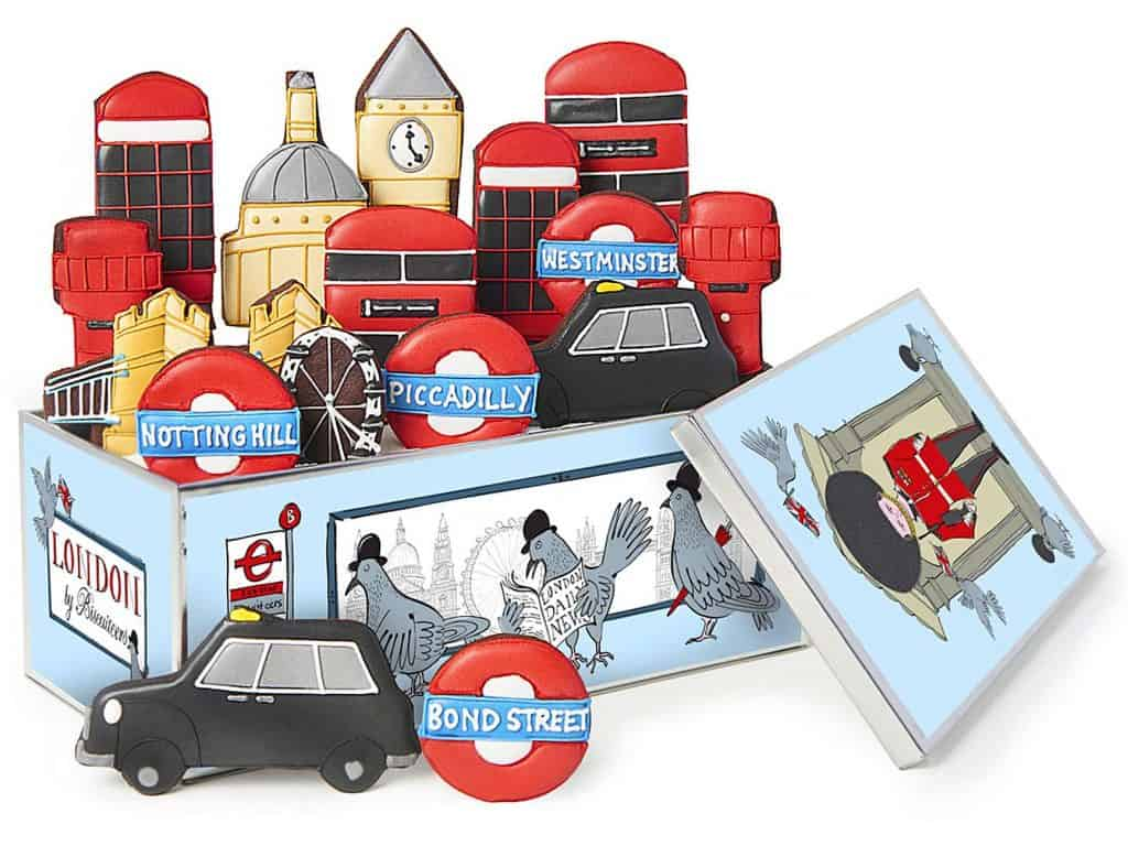 Lonodon Luxe Biscuit Tin - Biscuiteers - Gifts for the Man Who Has Everything UK
