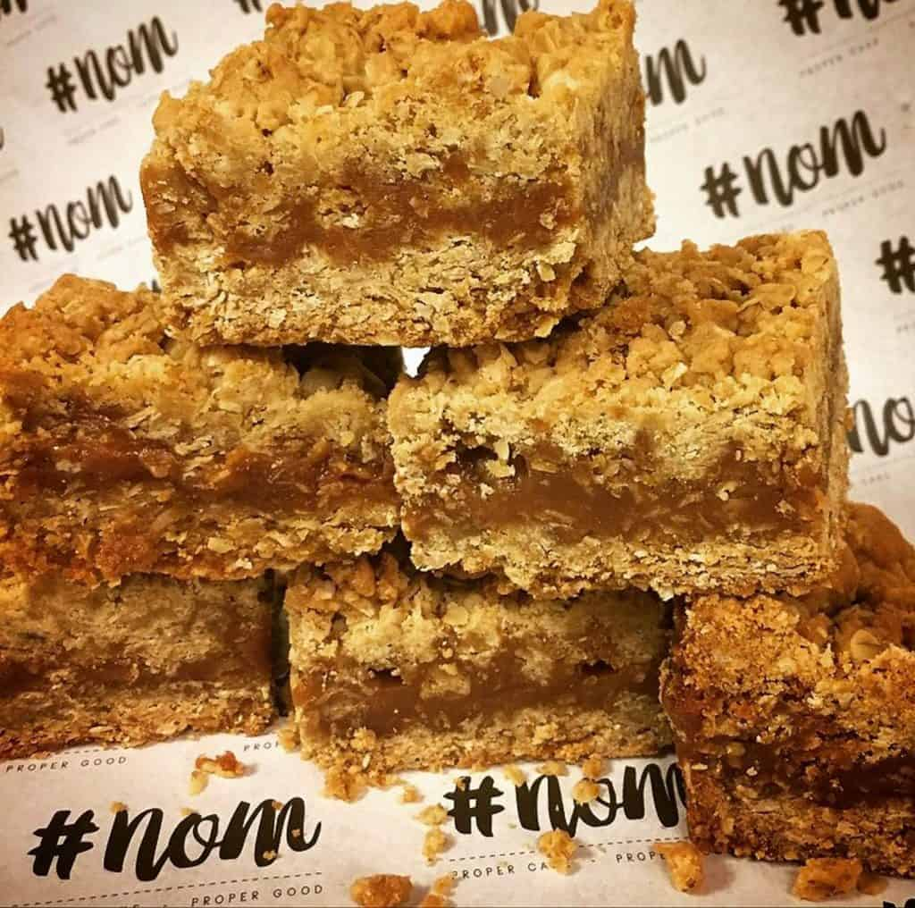 #NOM flapjacks gift idea - food gifts for Christmas