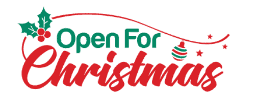 Open for Christmas Logo
