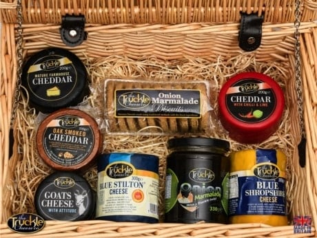 Truckle Cheese Food Gift Hamper for Christmas