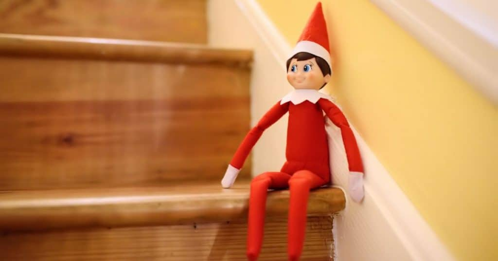 What is elf on the shelf_ Elf on the stairs