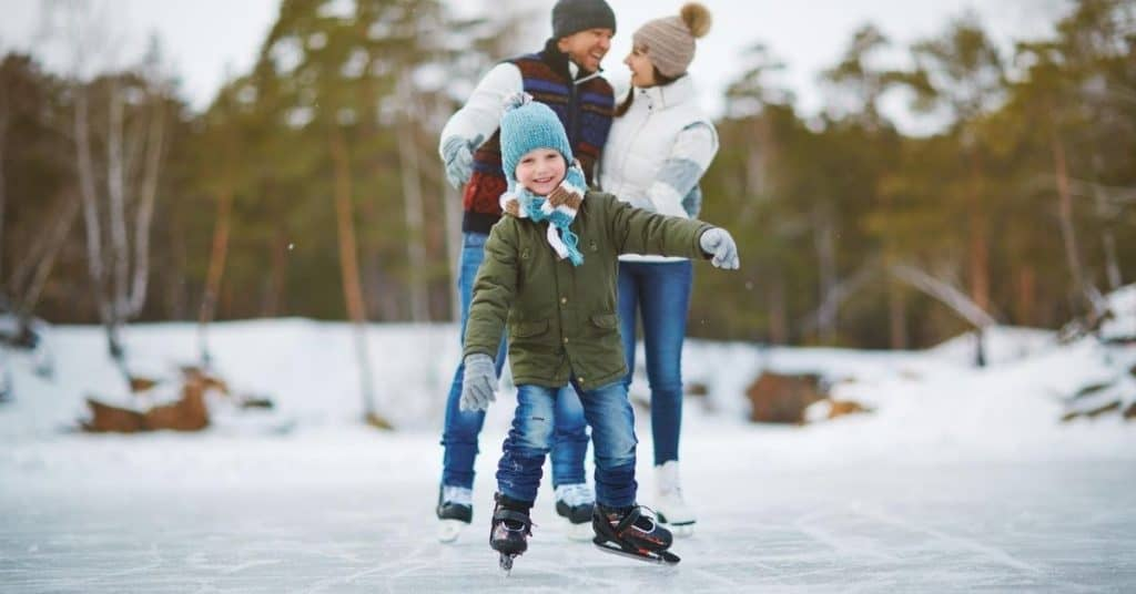 Ice Skating - Christmas Days Out for Kids - Open for Christmas