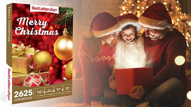 Merry Christmas Gift Box - Red Letter Days - Christmas Gift Ideas for Couples Who Have Everything
