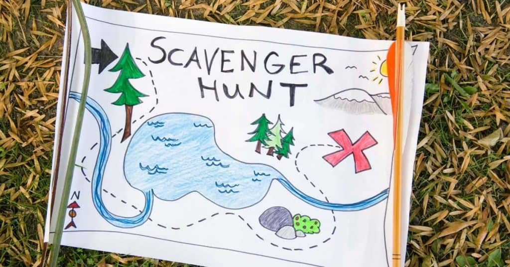 Scavenger Hunt Map - Christmas Days Out for Kids - Open for Christmas