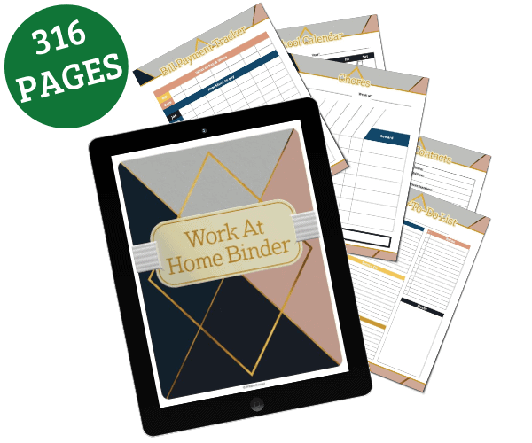 Work at Home & Life Planner - Open for Christmas