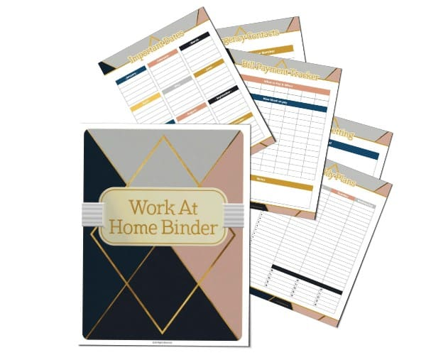 Work at Home & Life Planner-Open for Christmas