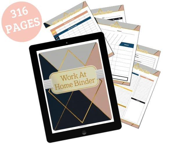Work at Home and Life Planner - Open for Christmas
