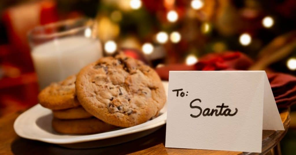 Milk and Cookies for Santa and Kris Kringle - Open for Christmas
