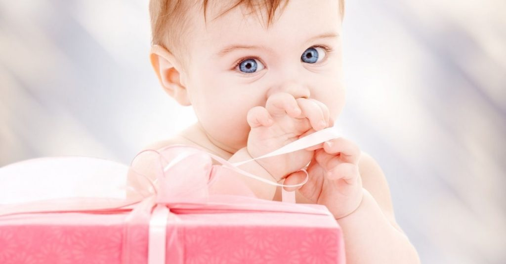 Baby Opening Gift - what to buy for baby's first christmas - Open for Christmas