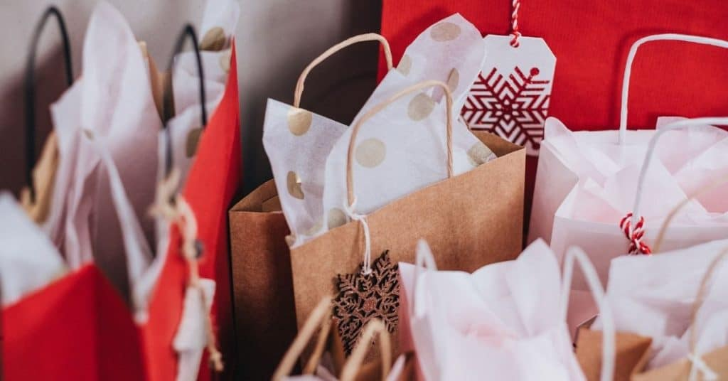 Bags of Presents - Why Do We Give Gifts at Christmas - Open for Christmas