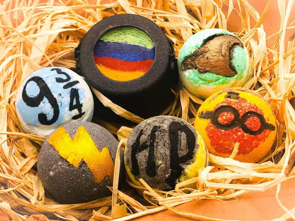Harry Potter Bath Bomb - Christmas Ideas - Open for Christmas