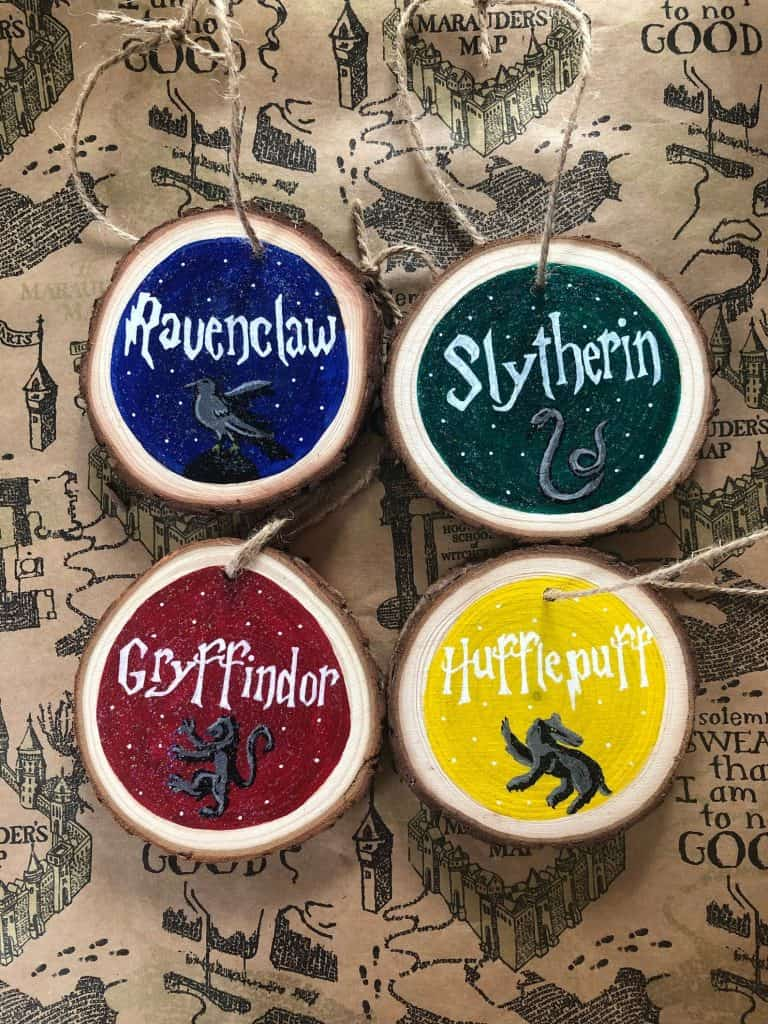 Harry Potter Hand Painted Hanging Decoration - Open for Christmas