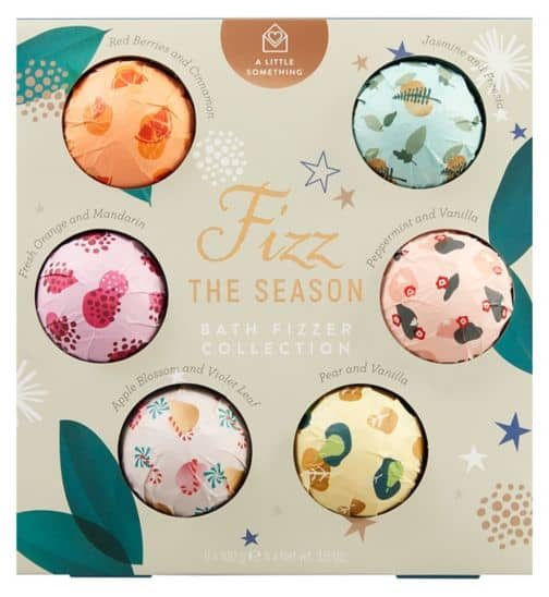 A Little Something Bath Fizzer - Cheap Stocking Fillers for Teenagers - Open for Christmas