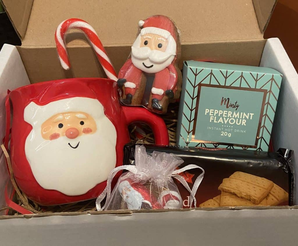 Hot Chocolate Gift Set - Christmas Eve Box Ideas for Adults - Open for Christmas