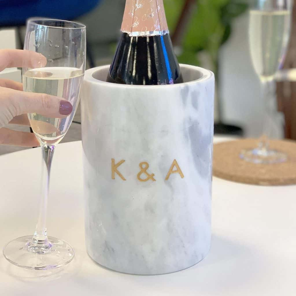 Personalised Wine Cooler for the Best Housewarming Gifts