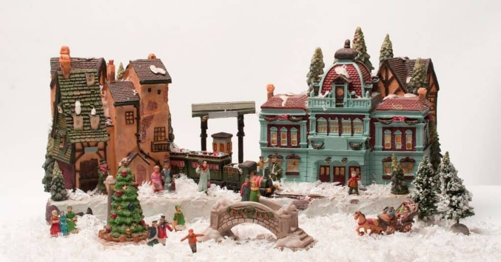 The Best Christmas Village Set - Open for Christmas