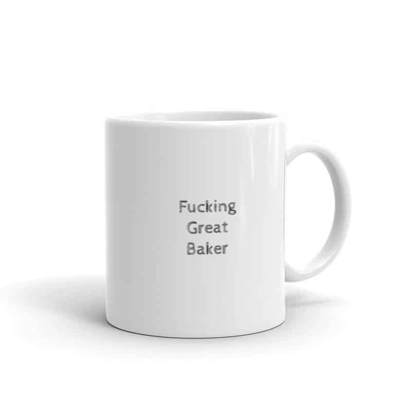 Funny Baking Mug - Open for Christmas