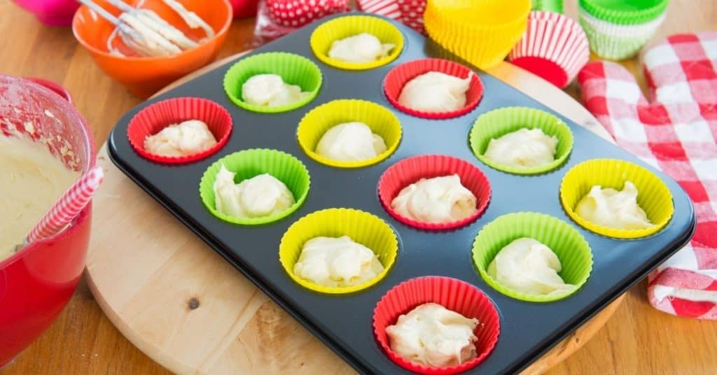 Making Cupcakes with quirky Baking Gifts - Open for Christmas