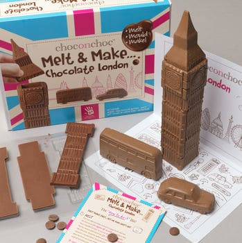 Make Your Own Chocolate London Gifts for Chocolate Lovers