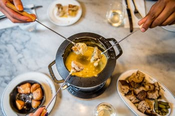 Not on the High Street Gifts for Her - Wine and Fondue For Two