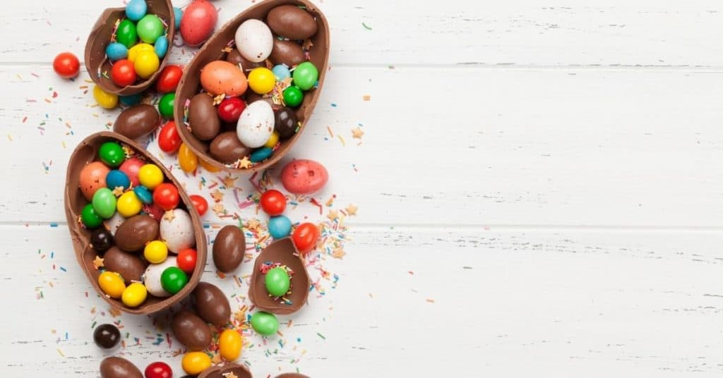 Chocolate easter eggs - Open for Christmas (1)