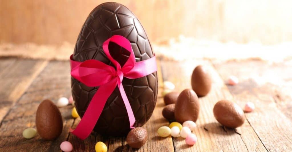 Chocolate easter eggs - Open for Christmas