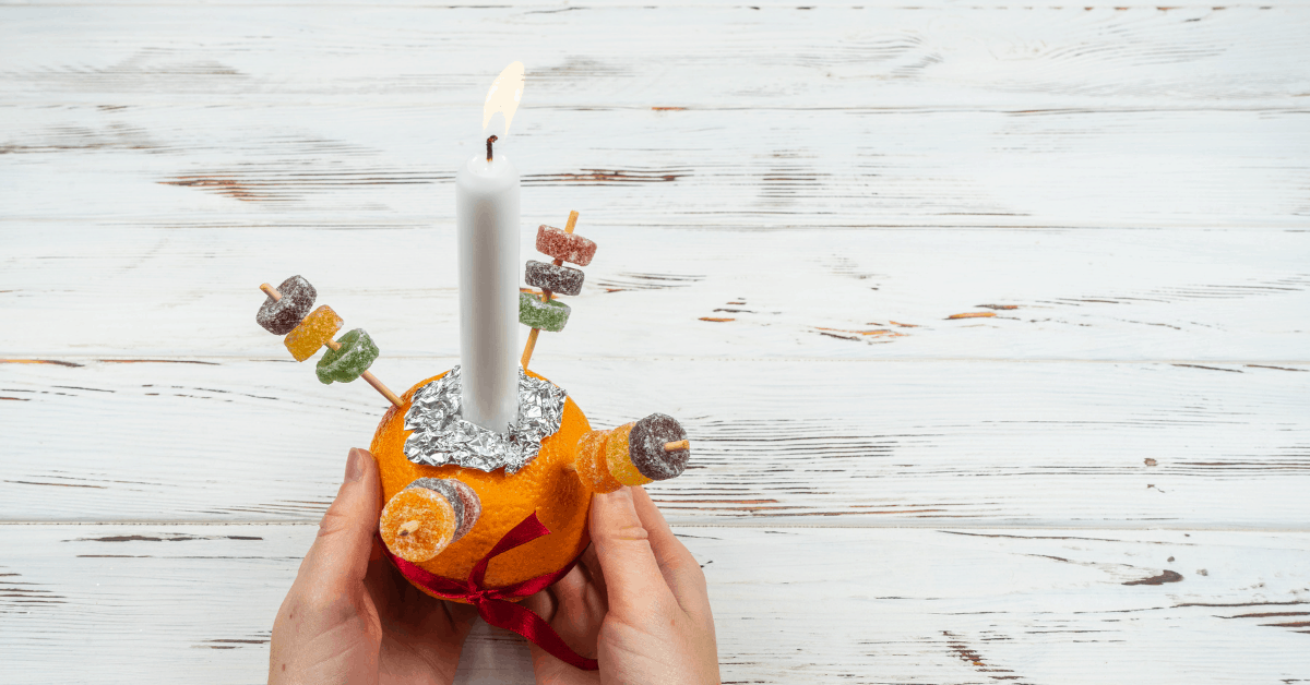 What is a Christingle service - Open for Christmas