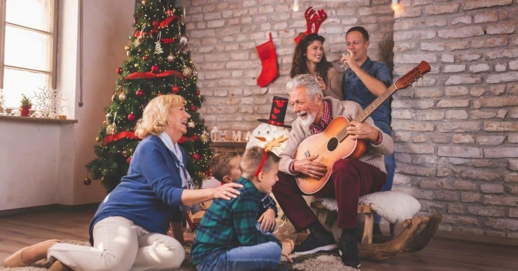 Singing Christmas Songs - Open for Christmas